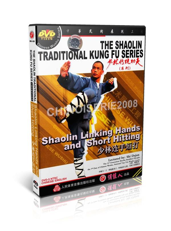 DW110-28 ShaoLin Traditional Kungfu Shaolin Linking Hands and Short Hitting Shi Dejun MP4