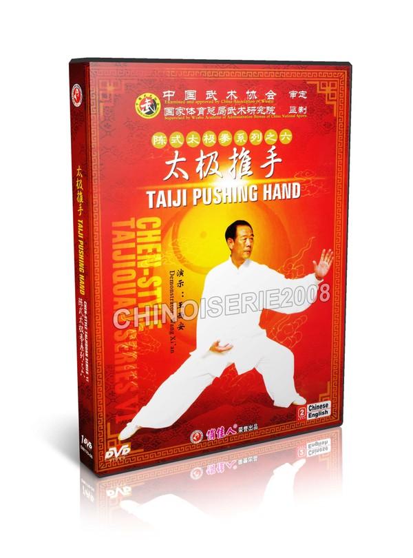 DW170-06 Chen Style Taijiquan - Chen style Tai Chi Taiji Pushing Hand - Wang Xi'an MP4