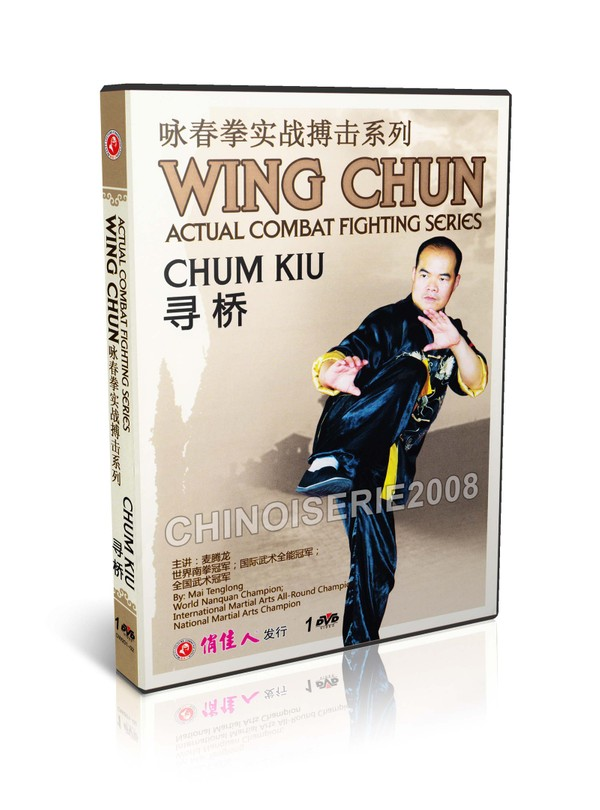 DW201-02 Wing Chun Actual Combat Fighting Series Chum Kiu by Mai Tenglong MP4