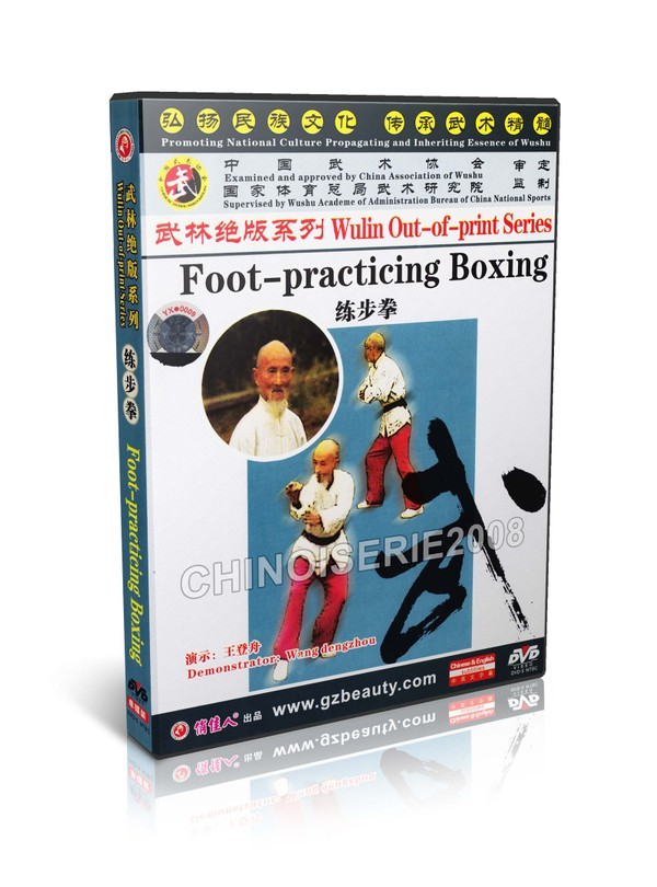 DW146-06 Martial art Wulin Out of print Series - Foot Practicing Boxing Wang Dengzhou MP4