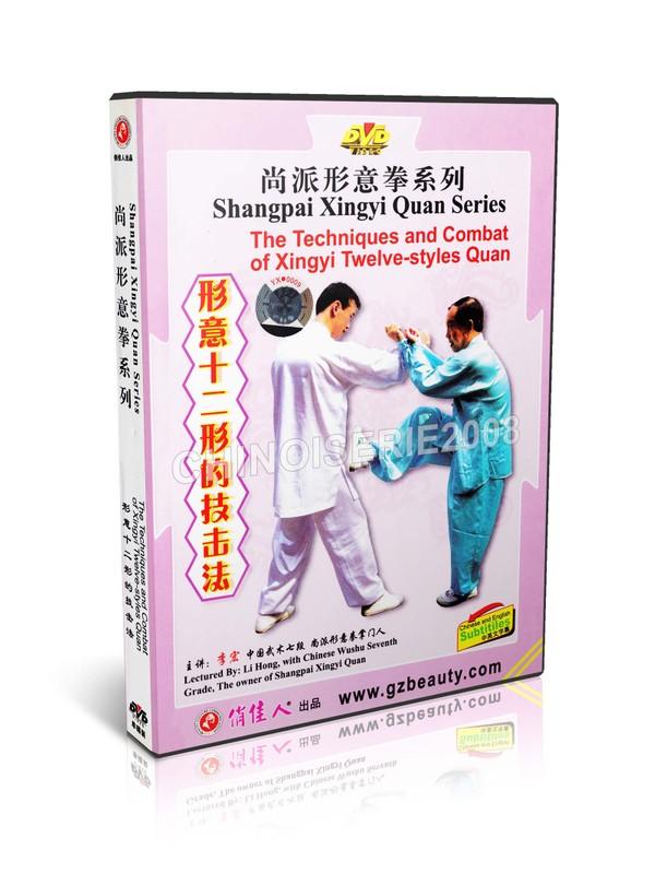 DW140-02 Shang Style Xing Yi - Techniques & Combat Of Xingyi 12 Styles Quan - Li Hong MP4