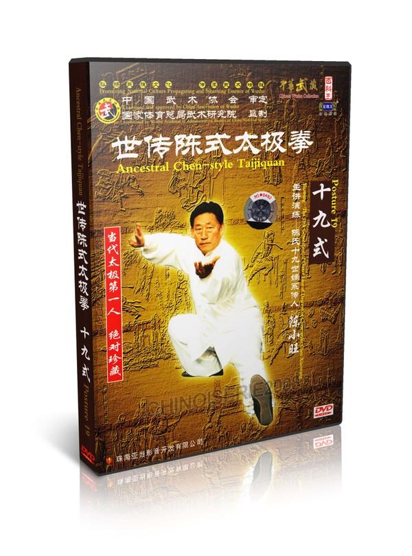 DWQL106 Chen Style Tai chi Collection Taijiquan Posture 19 Taijiquan - Chen Xiaowang MP4