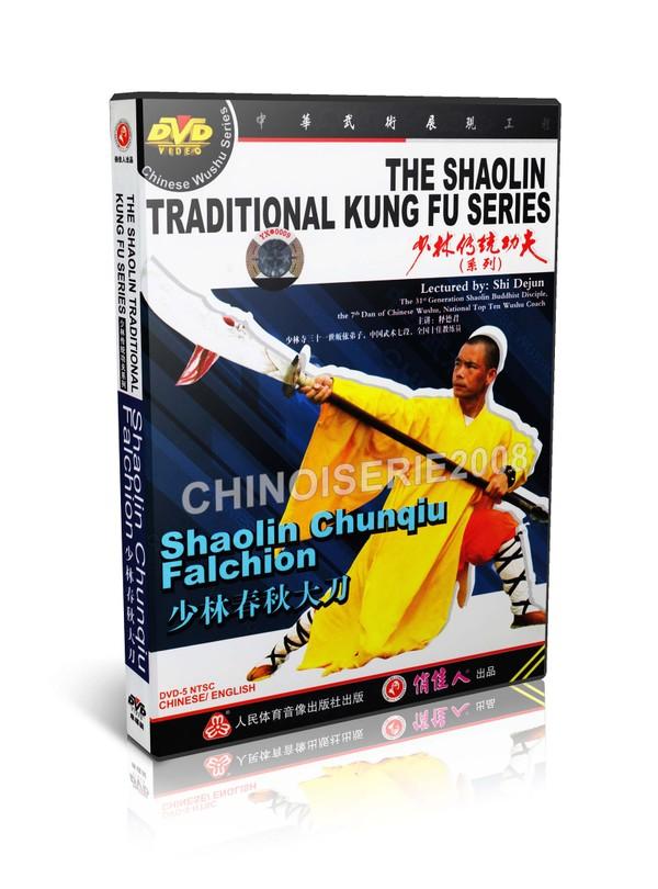 DW110-21 Shao Lin Traditional Kungfu Series - Shaolin Chunqiu Falchion by Shi Dejun MP4