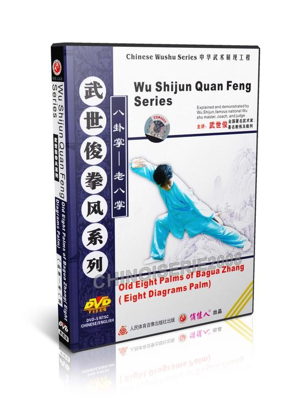 DW118-01 Old Eight Palms of Bagua Zhang (Eight Diagrams Palm) martial art - Wu Shijun MP4