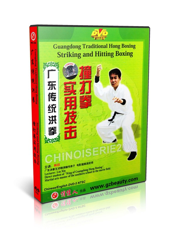 DW128-04 Chinese Kongfu Hong Boxing Striking and Hitting Practical Skill by Lin Xin MP4
