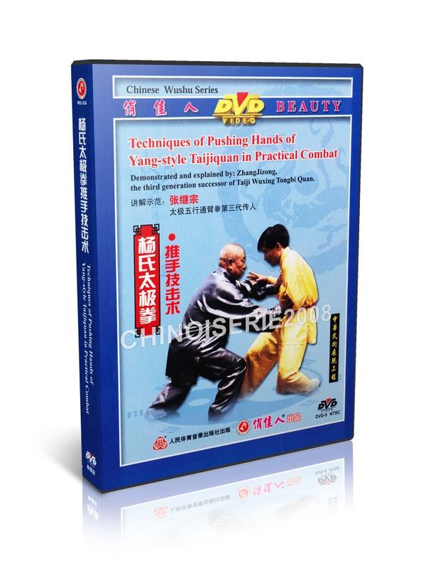 DW097-05 Yang Style Taichi ( Taijiquan ) Pushing Hands in Practicl Combat by Li Derun MP4