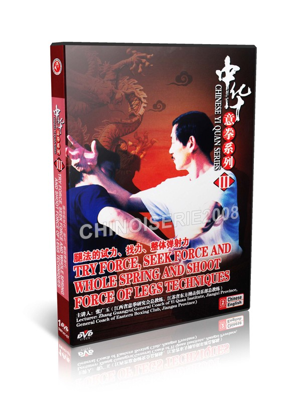 DW141-07 Yi Quan ( Da Cheng Quan ) - Try Force Seek Force & Shoot Force of Legs MP4