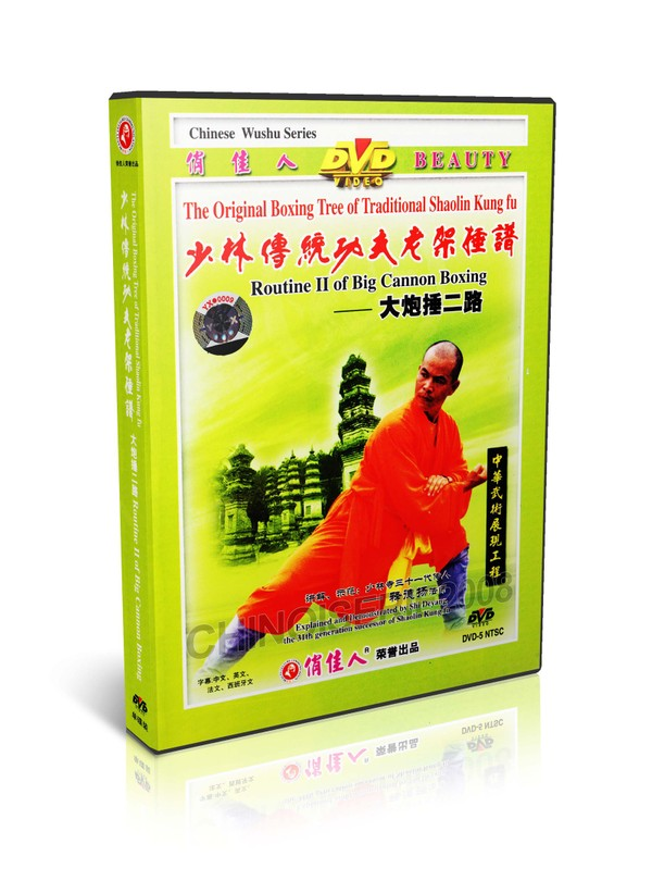 DW081-18 Traditional Shaolin Kungfu Series Shao Lin Big Cannon Boxing II - Shi Deyang MP4