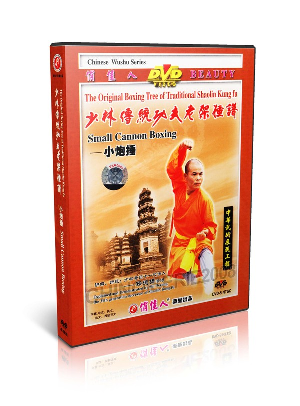 DW081-20 Traditional Shaolin Kungfu Series Shao Lin Small Cannon Boxing by Shi Deyang MP4