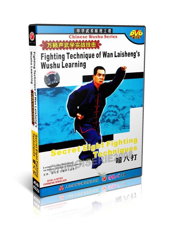 DW115-01 Wan Laisheng's Wushu Kungfu Secret 8 Fighting Techniques by Liang Shouzhong MP4