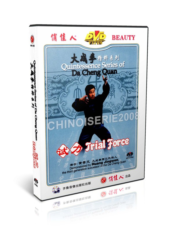 DW108-03 Quintessence Series Of Da Cheng Quan Yi Quan - Trial Force by Huang Jingwen MP4