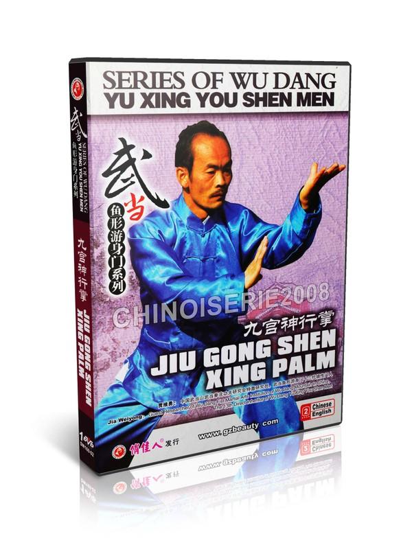 DW169-02 Wudang Kungfu - Wu Dang Yu Xing You Shen Men Jiu Gong Shen Xing Palm MP4