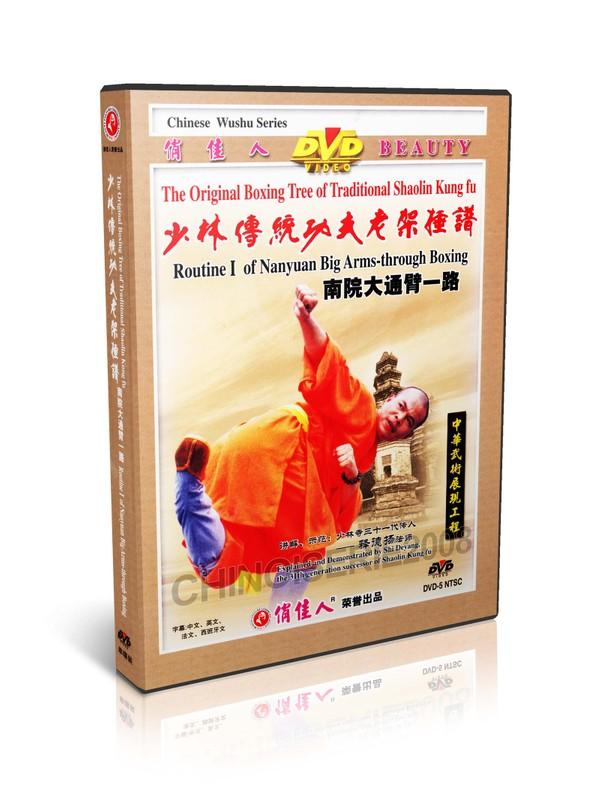 DW081-09 Traditional Shaolin Kungfu Shao Lin Routine I of Nanyuan Back through Boxing MP4
