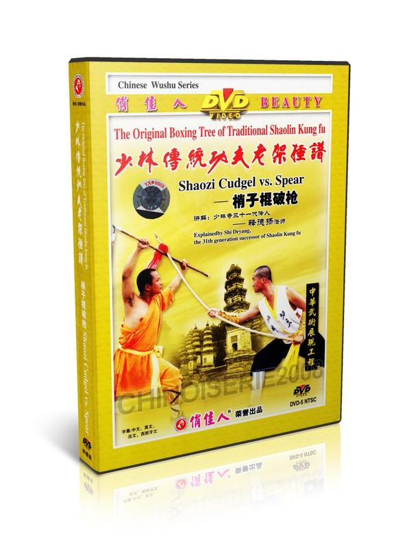 DW081-26 Traditional Shaolin Kungfu - Shao Lin Shaozi Cudgel Broken Spear Shi Deyang DVD