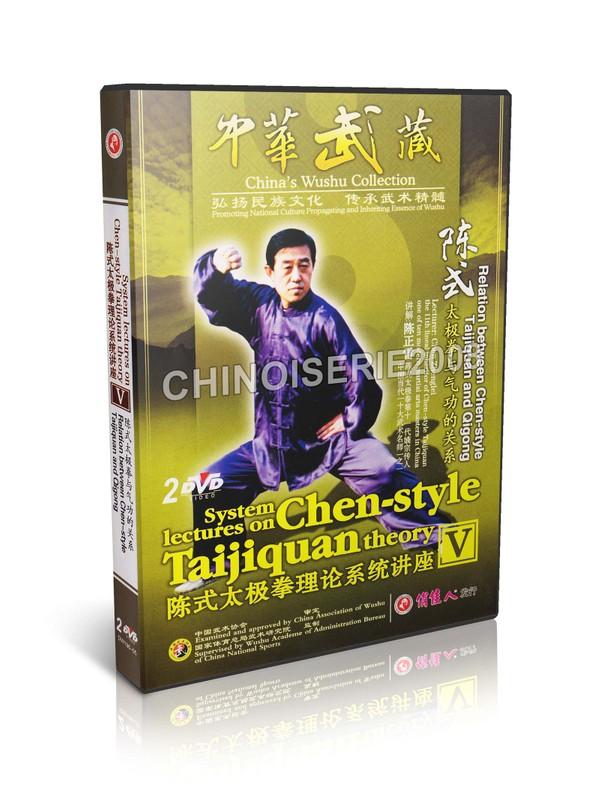 DW176-05 Relation between Chen-style Taijiquan and Qigong by Chen Zhenglei MP4