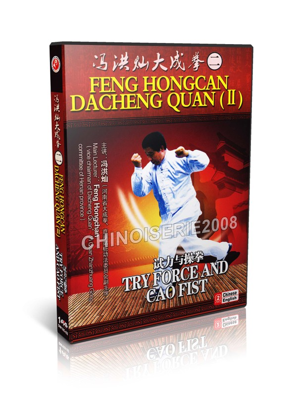 DW185-02 Dacheng Quan ( Yi Quan ) Try Force & Caofist by Feng Hongcan MP4