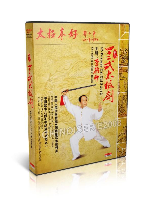 LDY-002 Chinese Wushu & Kongfu Taijiquan Taiji 42 Posture Tai Chi Sword by Li Deyin MP4