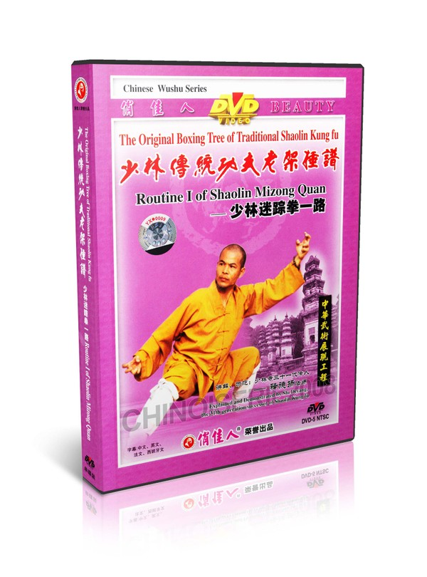 DW081-19 Traditional Shaolin Kungfu Series - Shao Lin Mizong Quan Routine I MP4