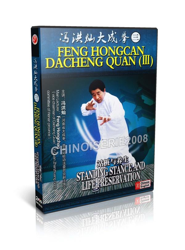 DW185-03 Dacheng Quan (Yi Quan) Standing Stance & Life Preservation by Feng Hongcan MP4