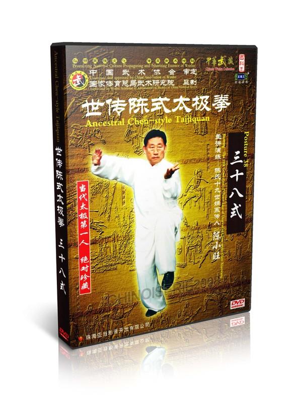 DWQL107 Chen Style Tai Chi Collection Series- Taijiquan Posture 38 - Chen Xiaowang MP4