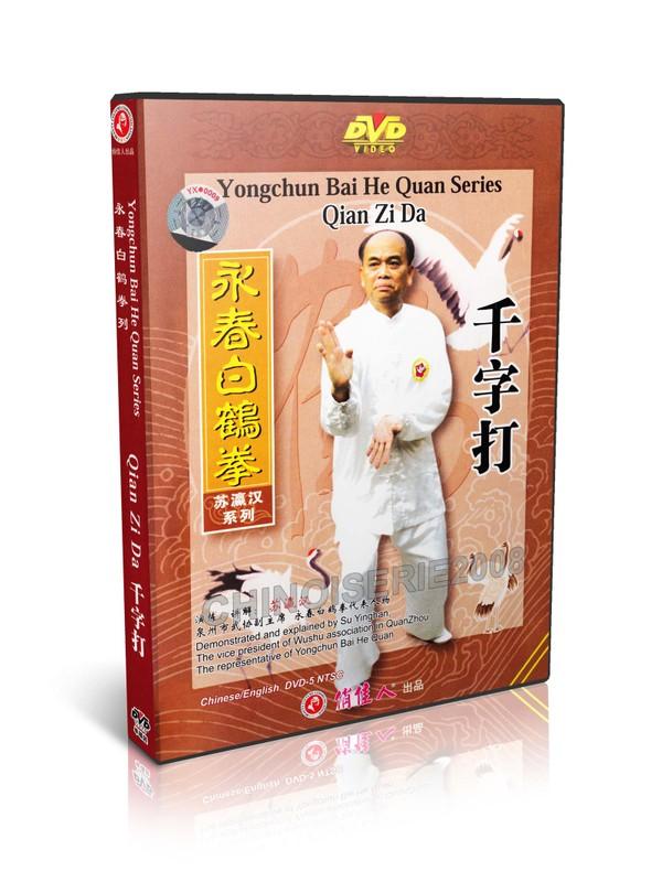 DW117-10 Wing Chun Kung Fu Series - Yongchun Bai He Quan Qian Zi Da by Su Yinghan MP4