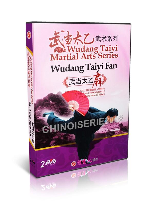 DW199-02 Wudang Taiyi Martial Arts Series - Wudang Taiyi Fan by Xiao Anfa MP4