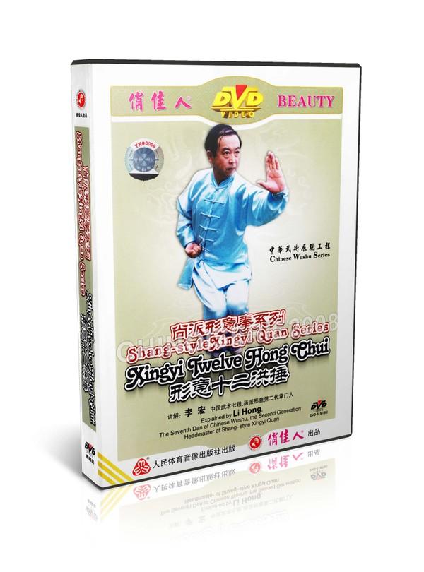 DW107-07 Shang Style Xingyi Quan Series - Xingyi Twelve Hong Chui by Li Hong MP4