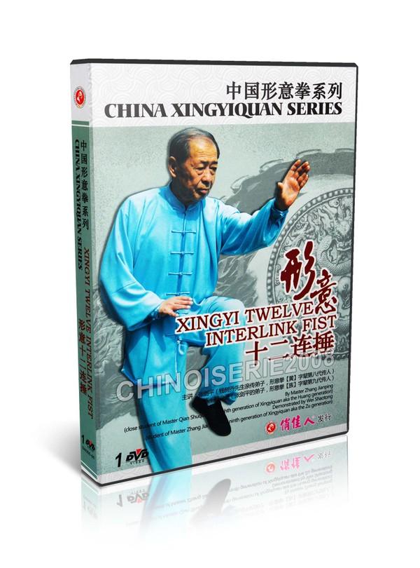 DW205-05 China Xingyiquan Series - Xingyi Twelve Interlink Fist by Zhang Jianping MP4