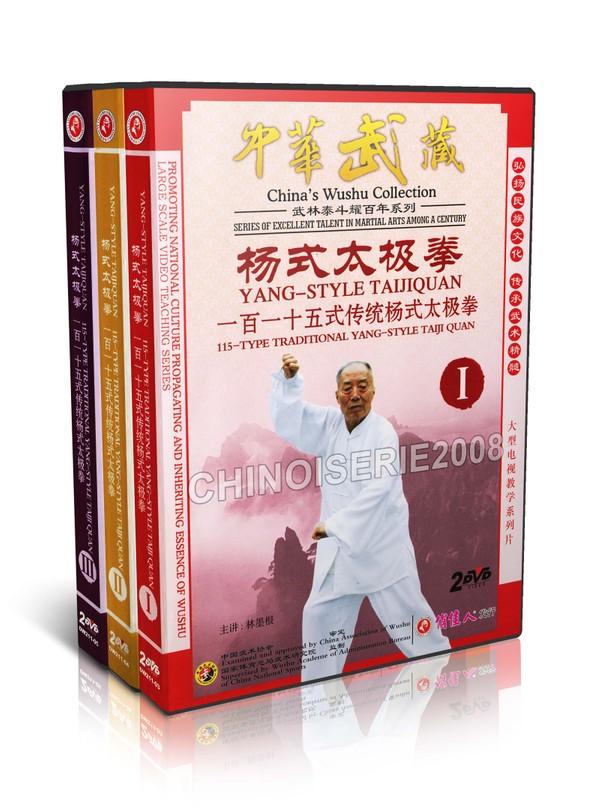 DW211-03-05 China's Wushu 115 Style Traditional Yang Style Taijiquan by Lin Mogen MP4