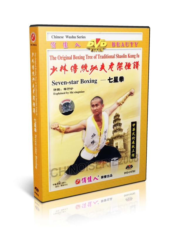 DW081-23 Traditional Shaolin Kungfu Series - Shao Lin Seven star Boxing by Shi Deyang MP4