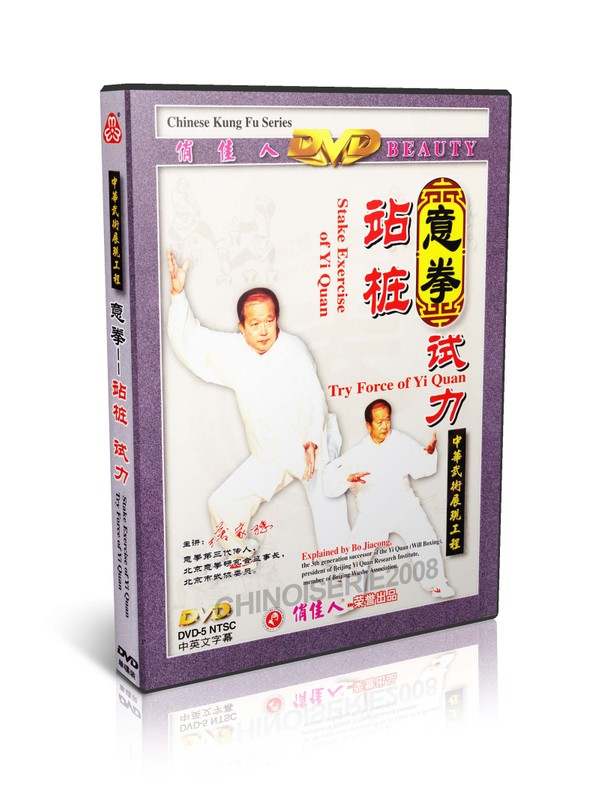 DW027 Chinese Kungfu Series - Stake Exercise & Try Force of Yi Quan by Bo Jiacong MP4