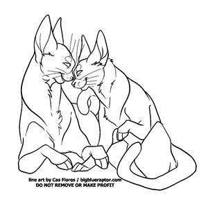 F2U Free To use Cat nose boop base