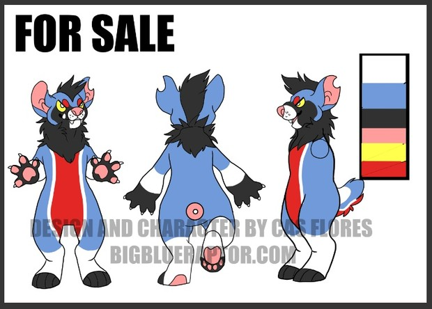 Reference Sheet 3 view YCH