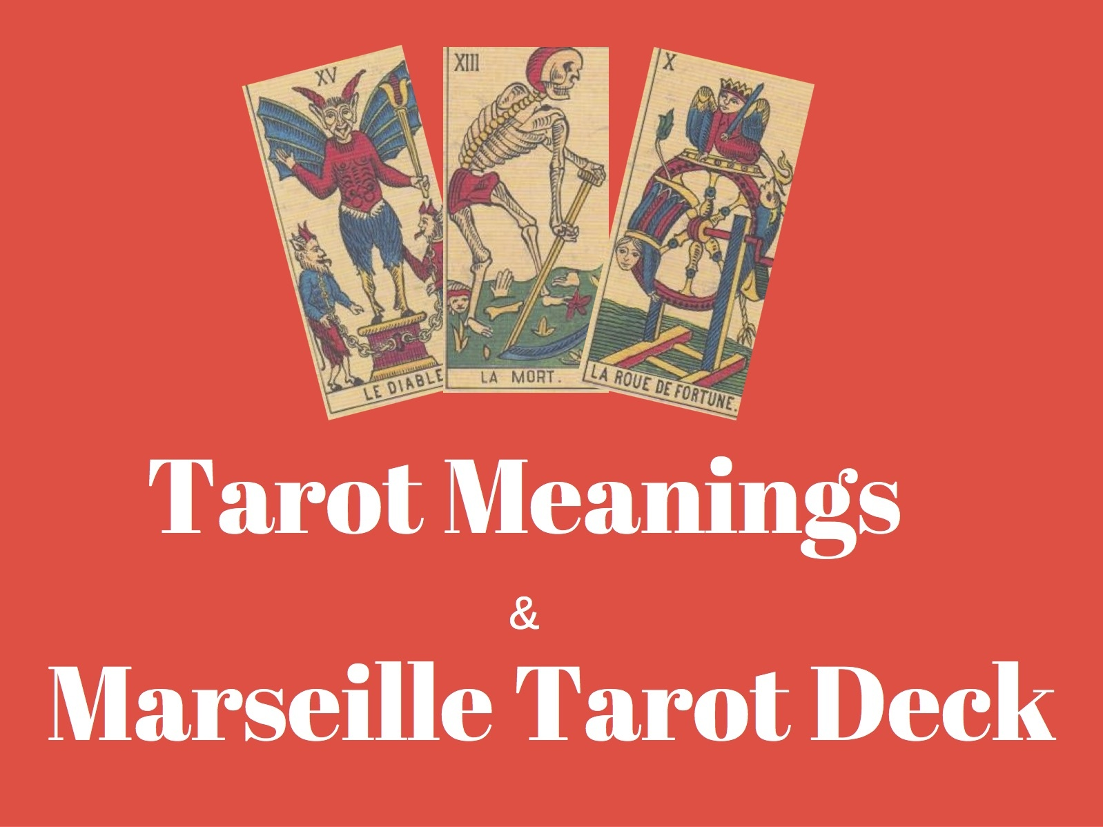 This is a graphic of Printable Tarot Cheat Sheet for tarot spreads