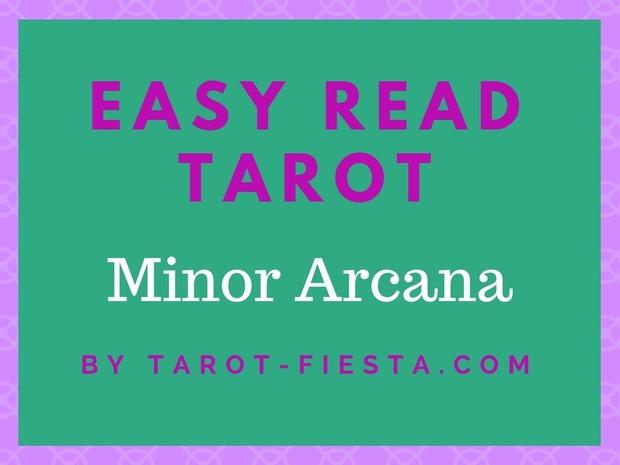 Easy Read Tarot - Minor Arcana