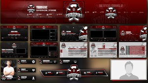 eSport Stream pack for Clans and Leagues