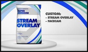 Custom Stream Overlay Design