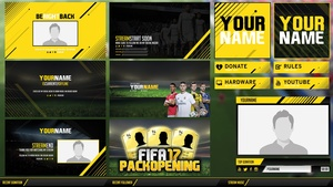 Fifa17 Stream Pack Template