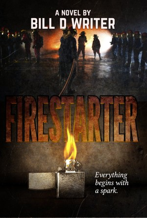 Firestarter Affinity Photo book cover template