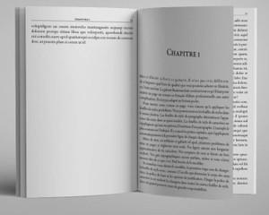 Beaumarchais - Gabarit pour roman et autres livres de fiction