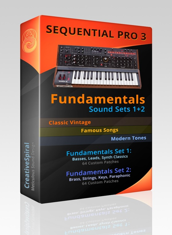 Sequential Pro 3 Fundamentals 1+2 Sound Sets