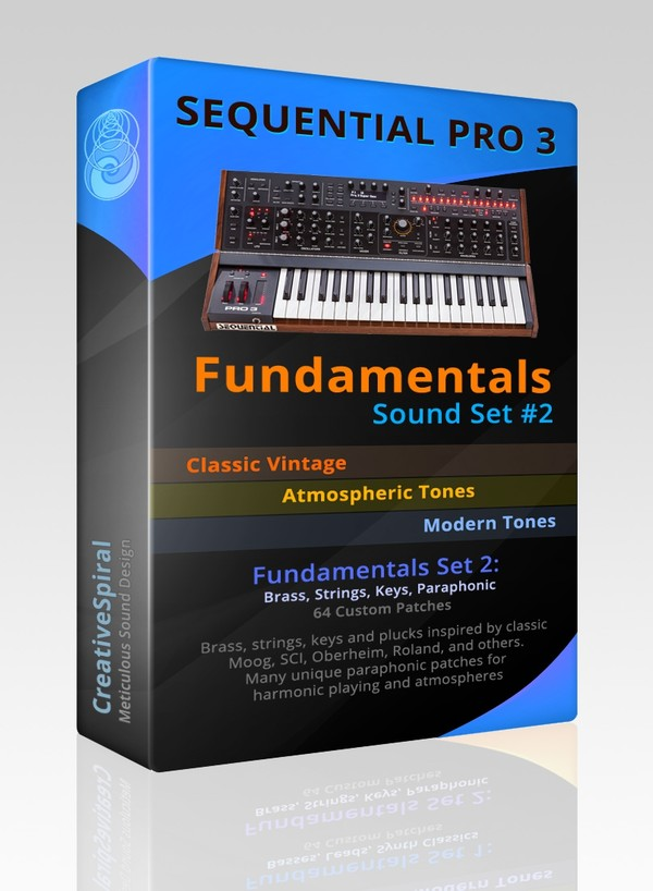 Sequential Pro 3 Fundamentals - Sound Set 2