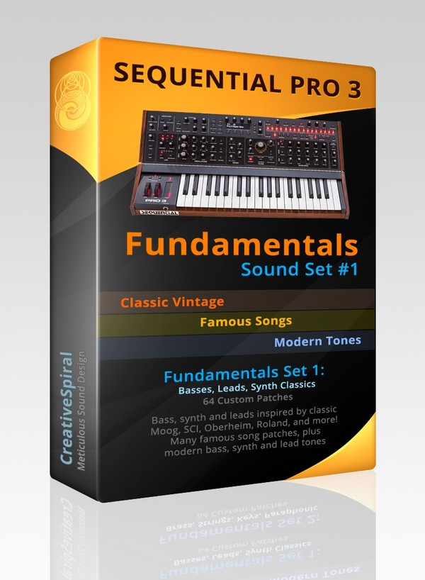 Sequential Pro 3 Fundamentals - Sound Set 1