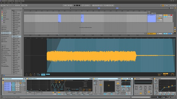 Elephant Hardstyle FX Screech Ableton LIVE Template