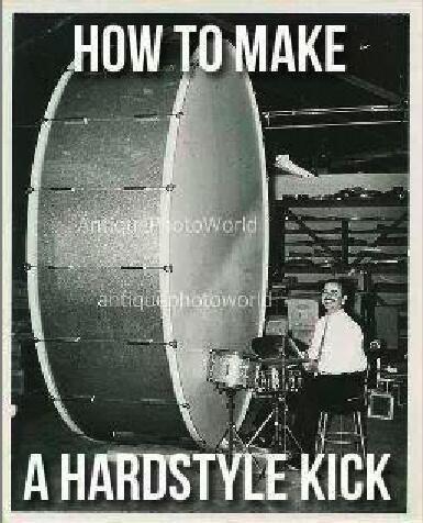 HARDSTYLE Kick Basic in Ableton Live 9 Project