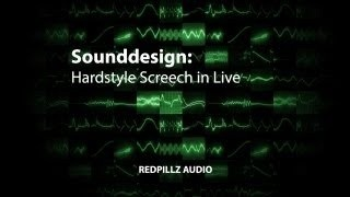 Hardstyle Screech in Live (No Plugins required)