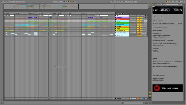 RAW Hardstyle Elements for Ableton Live