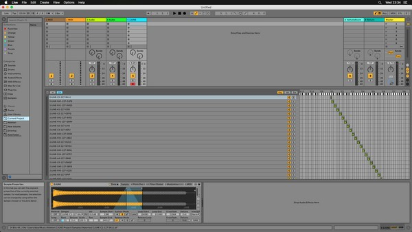 DEEP HOUSE BASS SYNTH ABLETON LIVE 10 Instrument