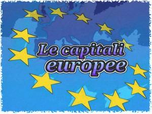LE CAPITALI EUROPEE