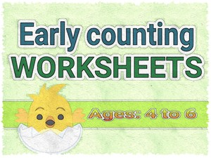 EARLY COUNTING WORKSHEETS
